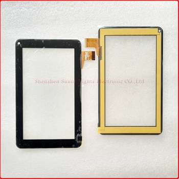 Jauno 7 collu Digitizer Touch Screen Panelis stikls Roverpad sky S7 WIFI Tablet PC 186*111mm 69245